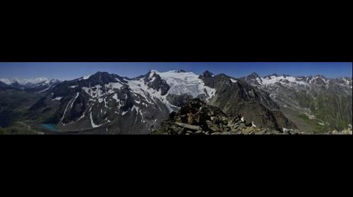 Panorama vom großen Trögler