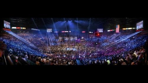 Floyd Mayweather Jr. VS Manny Pacquiao at the MGM Grand Arena in Las Vegas, NV
