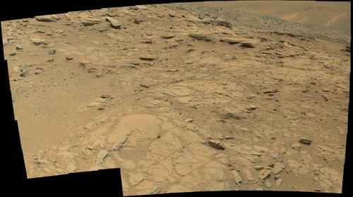 Mars, sol 1044.