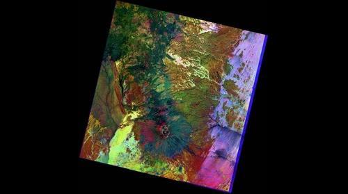 Tchad - Tibesti, Landsat 8