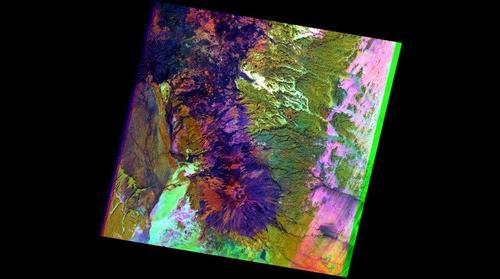 Tchad - Tibesti, Landsat 7