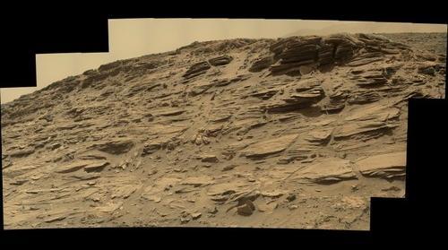Mars, sol 1033