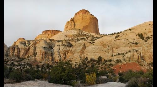 The Golden Throne, Capitol Reef National Park, Utah