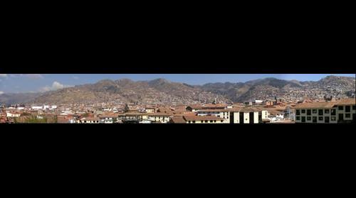 Cusco suburbs from Quorikancha