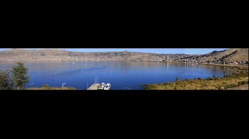 Puno, Peru on Lake Titicaca