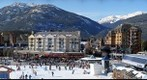 Whistler Village Skiers Plaza