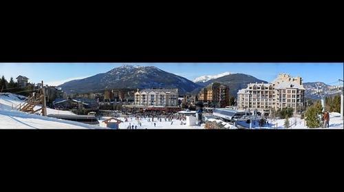 Whistler Village Skiers Plaza