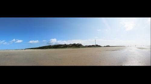 Terschelling vanaf het Groene Strand.