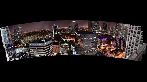 Brickell West view night