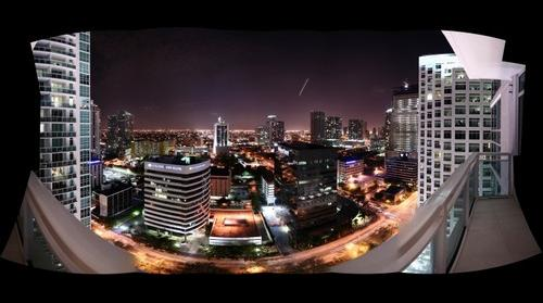 Brickell West Night View
