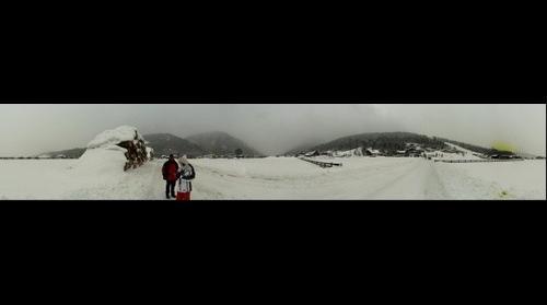 360 panorama of Flachau