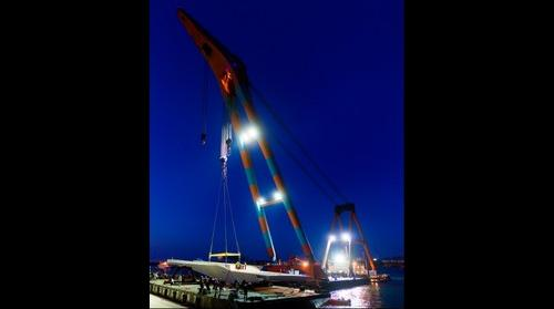 """Samson"" Floating Crane"