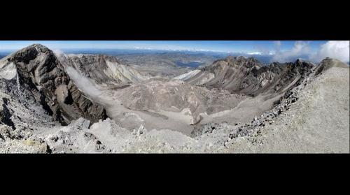 Mt. St. Helens Volcano Crater