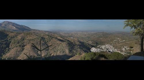 Tolox desde el Cerro del Hijar