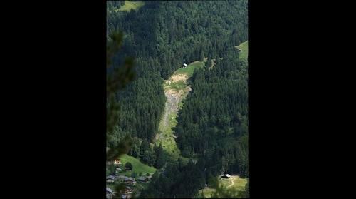 Pont Bourquin Landslide