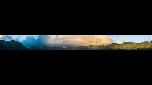 Waahila Ridge, Thunderstorm