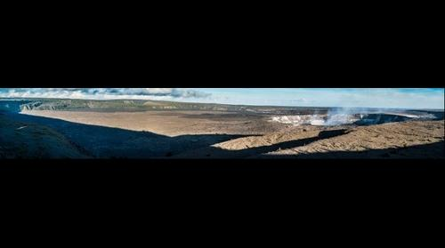 Kīlauea, Lava Plain and Crater