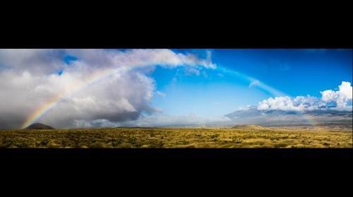Rainbow, Mauna Kea