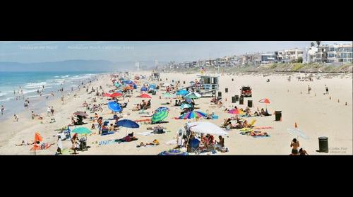 Sunday at the Beach - Manhattan Beach California 8-16-15