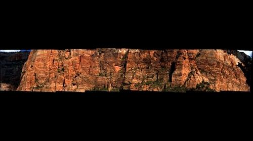 Zion Canyon Cliff Wall Details...