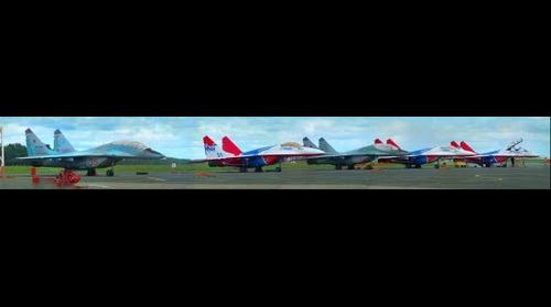 Swifts and Swans MiG-29 (Fulcrum)