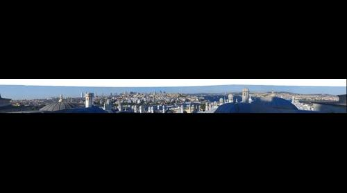 Panorama of Istanbul from Suleymaniye