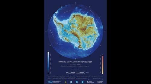 3D map of Antarctica