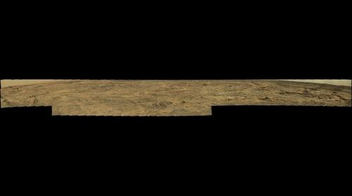 Mars Curiosity panorama at Sol 1088