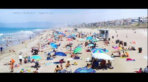 Sunday at the Beach #2 - Manhattan Beach August 16, 2015