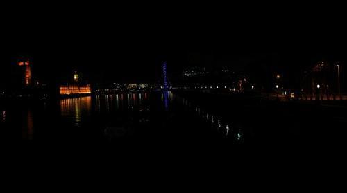 Westminster + London Eye