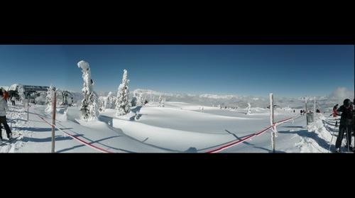 The top of Flachau Snow Space