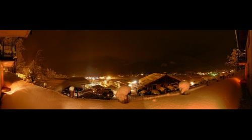 Flachau night view