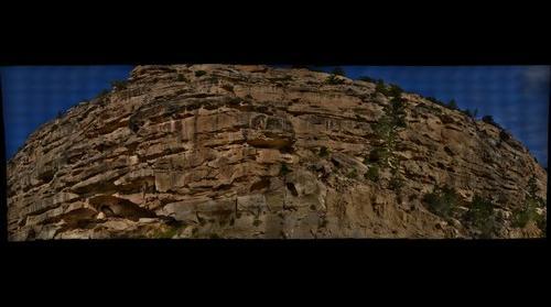 Joe's Valley close-up near petrogylphs