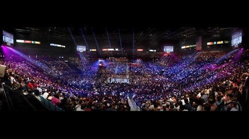 Floyd Mayweather vs. Andre Berto - MGM Grand Garden Arena, Las Vegas, Nevada