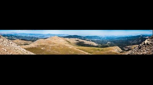 Denver from Mt. Evans, CO