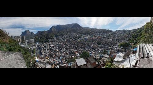 Rocinha Favela - Rio De Janeiro