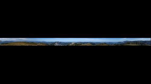 Panorama from Windberg