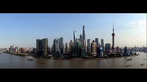 Shanghai Skyline (2015) - The bund