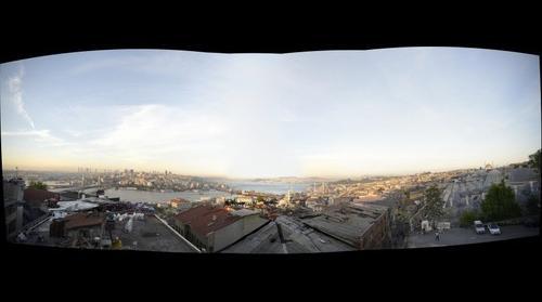 una vista desde la mezquita de Soleiman
