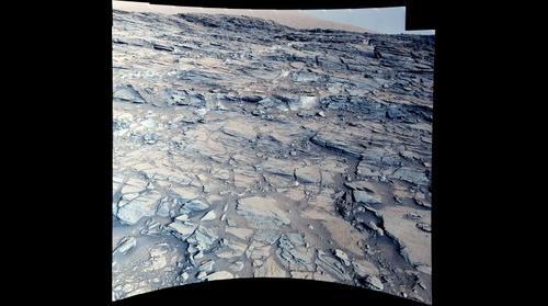 Mars, sol 1000. white balanced