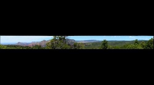 Sedona, AZ - Schnebly Hill Road View