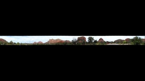Sedona, AZ - Bell Rock Trail Head Parking Lot 360