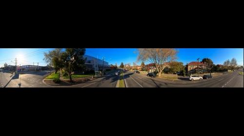 Williamstown Road at Salmon Street in Port Melbourne, Sep 13, 2015 at 4:46pm