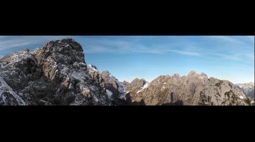 Blick vom Alpspix zur Zugspitze