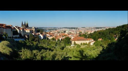 Prague from Strahov