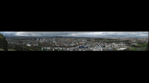 Edinburgh from Salisbury Crags 01