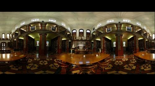 whereRU: Inside Gardner Sage Library (2)