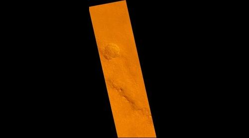 "Mars - code name ""Red Orb shapes & Orange streak"" UVDs unidentified visual data - origin unknown."