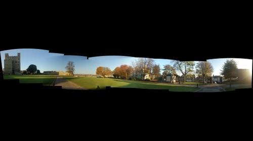 Rochester Castle bailey