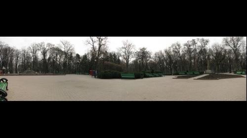 central park, Chisinau, Moldova
